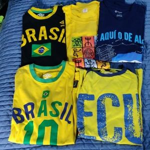 5 Shirt Soccer Fan pack.